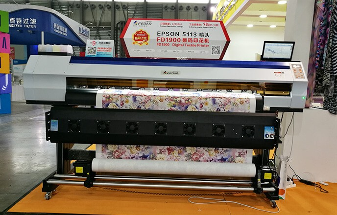 FD1900 Dye Sublimation Printer